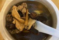 鱼胶灵芝乌鸡汤的做法
