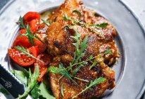 超快手的泰式咖喱香煎鸡排#人人能开小吃店#的做法