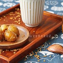 糖渍桂花栗子(附详细栗子处理方法)#中秋团圆食味#