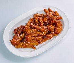 韩式辣酱鸡爪的做法