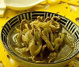 榨菜肉丝汤的做法