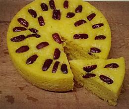 自制健康美味南瓜红枣发糕的做法