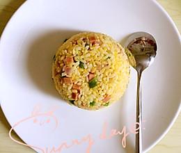 电饭锅版黄金蛋炒饭的做法