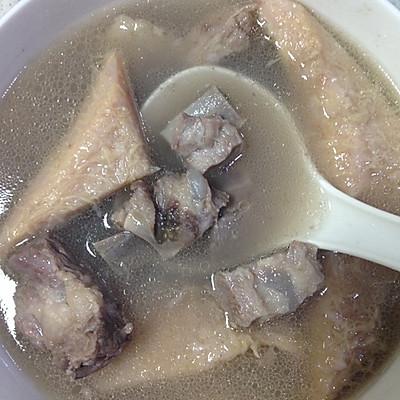 榴莲瓤煲排骨汤