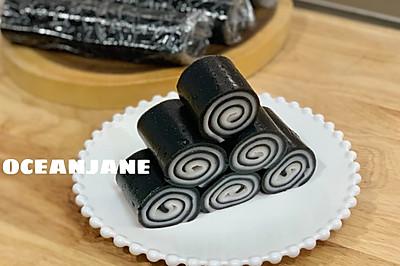 黑芝麻椰汁卷