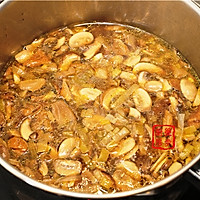 【曼步厨房】野生菌菇奶油浓汤的做法图解4