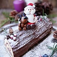 超简单圣诞树根蛋糕卷-超人气菜谱的做法图解49