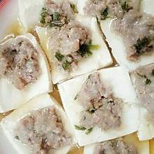 嫩豆腐蒸肉