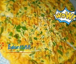 辣椒煎鸡蛋的做法