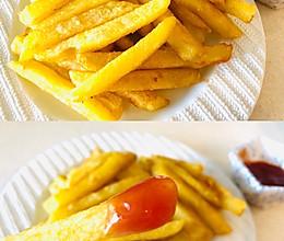 秒杀KFC|自制薯条的做法