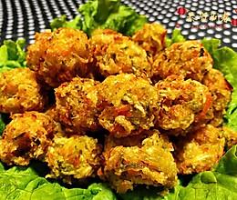 #母亲节,给妈妈做道菜#酥炸萝卜丝丸子的做法