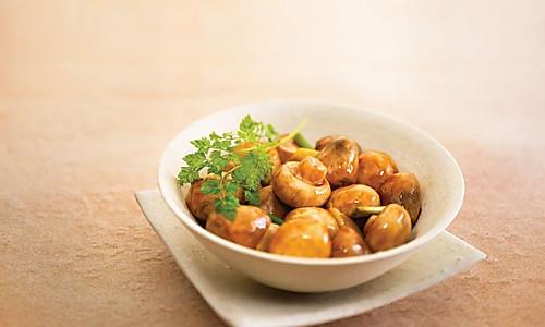 前程似锦蚝油菇的做法