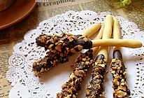 花生巧克力棒#九阳烘焙剧场#烤箱试用#的做法