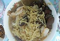 东北酸菜白肉血肠的做法