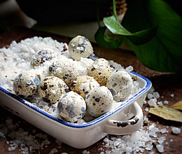 #夏天夜宵High起来!#烤箱盐焗鹌鹑蛋的做法