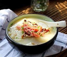 竹荪鸭架汤的做法