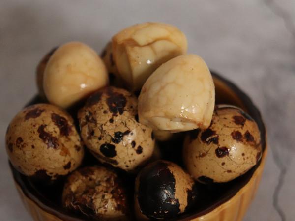 简单易做的下酒菜,五香鹌鹑蛋的做法