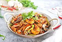 #一人一道拿手菜#海鲜麻辣香锅的做法