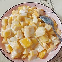酸奶芒果捞