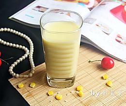 奶香丝滑的【糯米玉米汁】#七彩七夕#的做法
