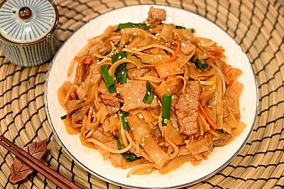 粤菜-干炒牛河
