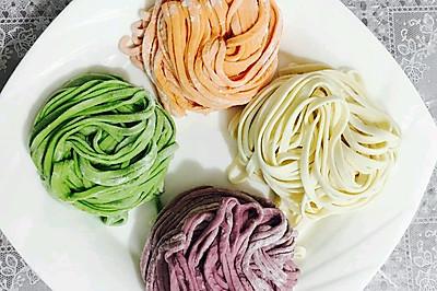 缤纷果蔬汁彩色面条