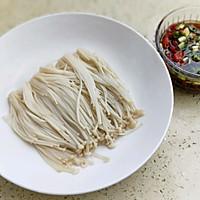 热拌金针菇#安佳幸福家常菜#的做法图解7