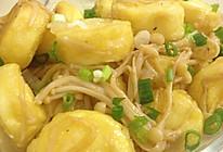 金针菇日本豆腐煲的做法