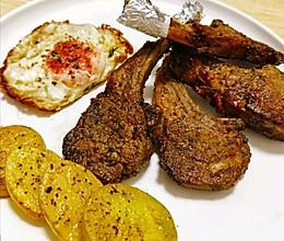 秋食:家庭版烤羊排的做法