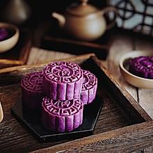 紫薯红豆糕#舌尖上的端午#