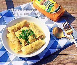 鸡汁清蒸百叶包#太太鲜鸡乐中式#的做法