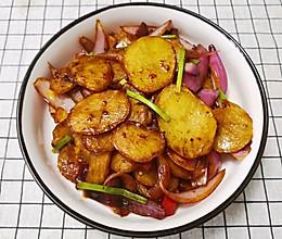 干锅土豆片(炒锅版)的做法
