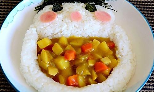 大嘴宝宝咖喱饭的做法