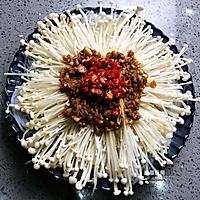 蒜蓉粉丝金针菇的做法图解8