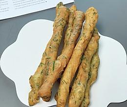 #麦子厨房#美食锅#油条换法儿吃-茴香小油条的做法