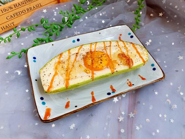 鸡蛋焗西葫芦#硬核菜谱制作人#的做法