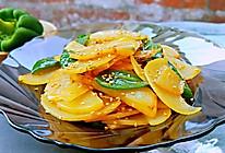 青椒土豆片你以为很简单吗?是的!#夏日消暑,非它莫属#的做法