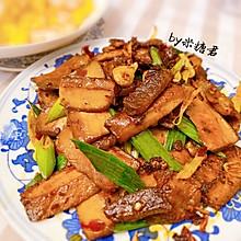 下饭硬菜:香干回锅肉