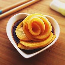 梨汁腌萝卜~酸甜爽脆的开胃小菜