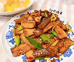 下饭硬菜:香干回锅肉的做法