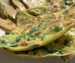 蔬菜饼(专治不爱吃早餐的宝宝)的做法