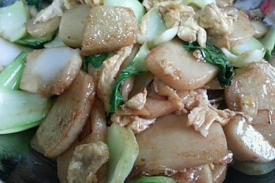 中式辣炒年糕