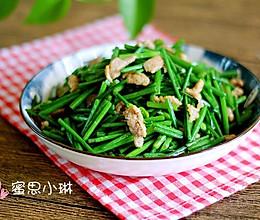 肉丝韭菜花的做法