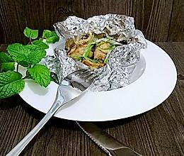 不用洗碗的锡纸盐焗鸡腿【烤箱懒人菜】蜜桃爱营养师私厨的做法