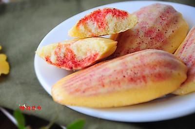 贝壳彩虹蛋糕
