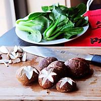 蚝油香菇青菜#人人能开小吃店#的做法图解1