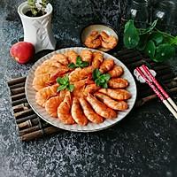 #花10分钟,做一道菜!#无水椒味虾的做法图解17