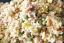咸肉竹笋豌豆糯米饭的做法