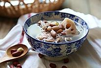 冬天必喝的女人汤--花生莲藕煲龙骨汤的做法