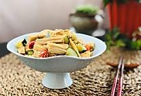 简单的凉拌腐竹 净素食的做法
